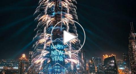 بالفيديو - هكذا احتفلت مدن العالم بالعام الجديد