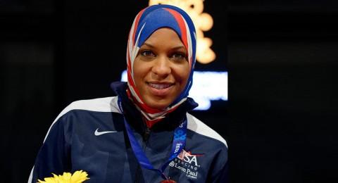إبتهاج محمد، أول مسلمة محجبة تمثل أمريكا في الألعاب الأولمبية