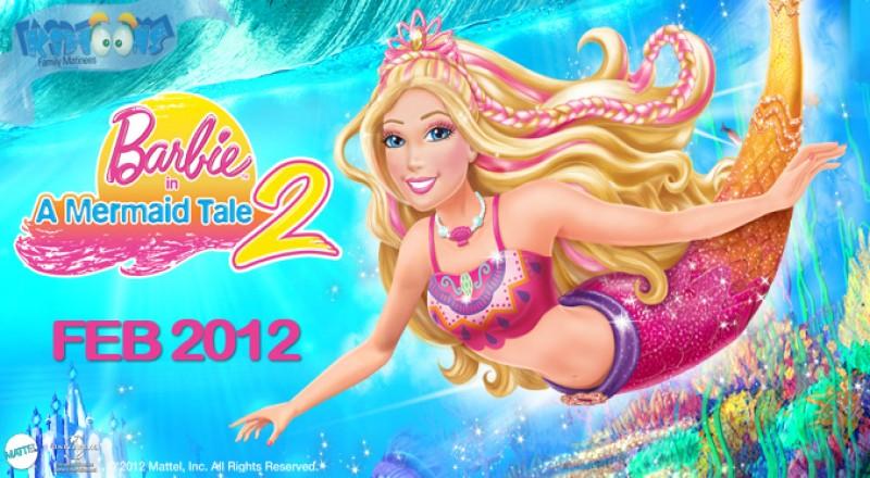 Shahid Live شاهد لايف باربي وحكاية حورية البحر الجزء 2 Barbie Mermaid Tale مدبلج