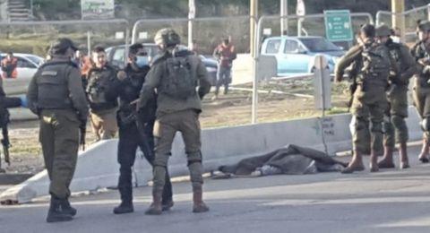 اطلاق نار على شاب فلسطيني بدعوى محاولة الطعن في غوش عتصيون
