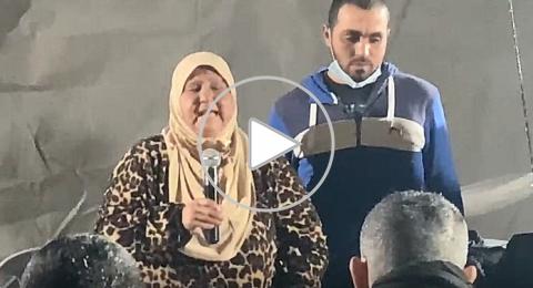 والدة المرحوم احمد حجازي في بيت العزاء: أهلا وسهلا فيكم في فرح أحمد!