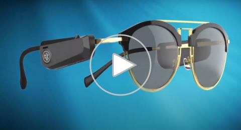 الكشف عن سماعات لاسلكية مميزة تركب على النظارات!
