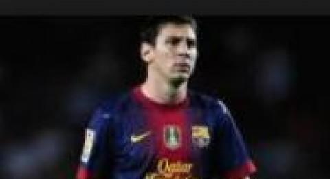 اصابة ميسي قد تبعده عن مباراة الاياب امام باريس سان جرمان