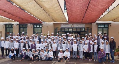 يوم الأعمال الطيبة في مدرسة القسطل في الناصرة