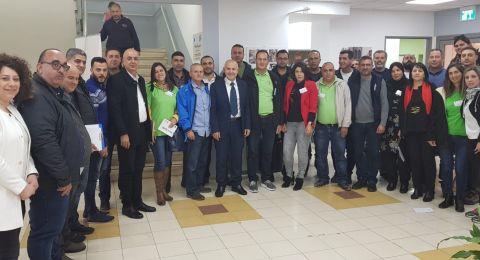 المدير العام للوزارة شموئيل أبواب يلتقي معلّمي معرفة البلاد في المجتمع العربي