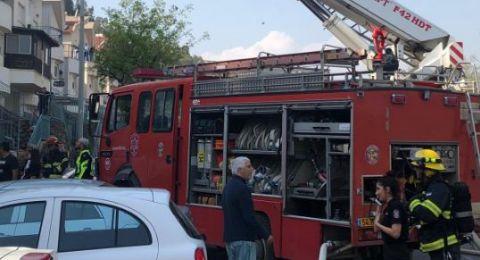 يافة الناصرة: حريق في مطبخ أحد المنازل .. وكادت تقع كارثة