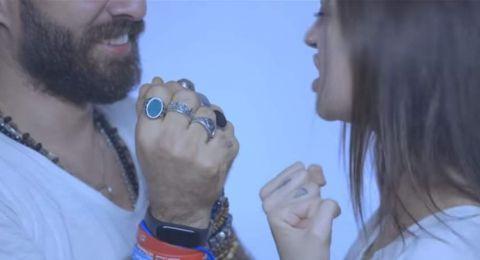 فنانة لبنانية على علاقة بمذيع.. ظهر معها في كليبها الجديد