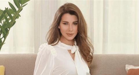 بعد إنجابها طفلتها الثالثة: أول ظهور علني لنانسي عجرم
