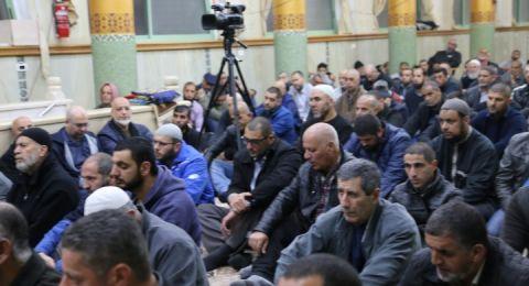 """الناصرة: احتفال حاشد في ذكرى """"الإسراء والمعراج"""" في مسجد سعين"""
