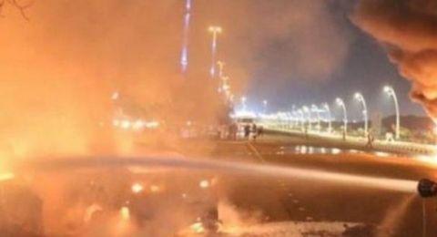 اندلاع حريق بفندق قرب الحرم المكي وإخلاء 700 معتمر