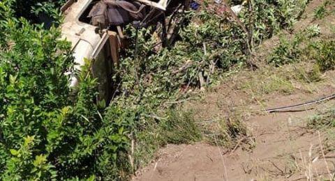 مصرع شاب (40 عاما) و5 اصابات اخرى بينهما خطيرة في حادث طرق قرب بركة