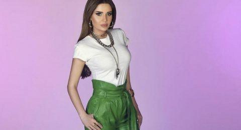 النجمات العربيات في إطلالات ملفتة في البنطلون الأخضر