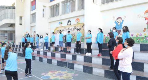 فوز رحيب، ومراتب أولى في المدرسة الجماهيريّة بير الأمير -الناصرة في مسابقة