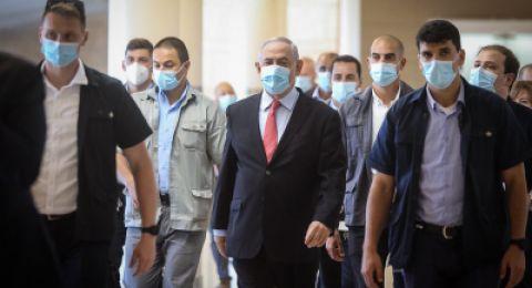 الحكومة الإسرائيلية تخضع بالكامل لفحص كورونا