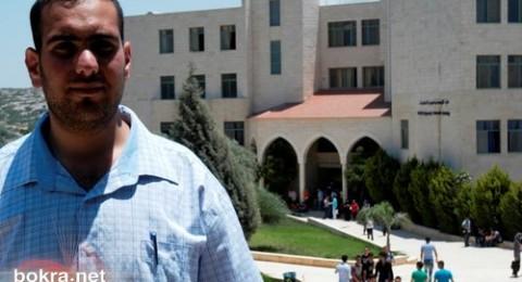 محمد خيري: أحمل طموحاً لإعادة هيكلة الصحافة، وجامعة جنين شروطها انسب