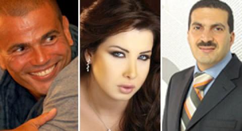 عمرو خالد يتفوق على نانسي ودياب بـ3 ملايين معجب بفيس بوك