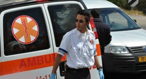 اصابة 8 اشخاص في حادث طرق بين كفر سميع والبقيعة