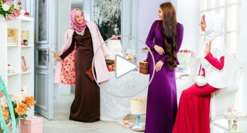 الأزياء التي تفضلها النساء المسلمات في روسيا